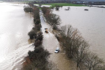 Flooding at the A29 Pulborough