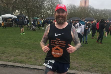 Henry Ainsley plans to run 52 half marathons in 52 weeks to raise awarness of male suicide and tell people there is always a way out