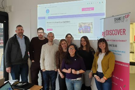 A team of digital creatives pooled their skills to voluntarily revamp the Sussex Cancer Fund website