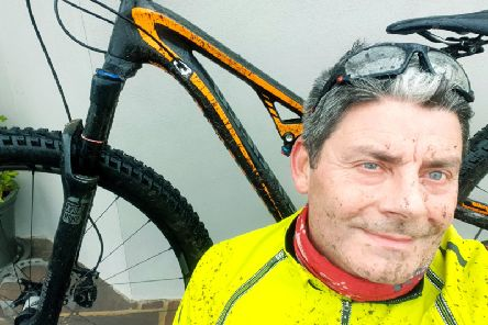 Dean Haysom is in training for the coast to coast race