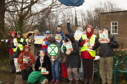 Extinction Rebellion Arun Valley. Photo by Hugh Gilbert http://www.hughgilbert.com/