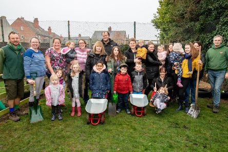 Representatives from the Eco Centre met with parents, carers and children at Skegness Children's Centre on Saturday.