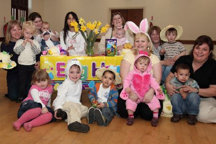 Friskney Parent and Toddler Group 10 years ago.