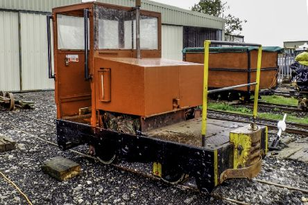 T3, one of the new arrivals for the Lincolnshire Coast Light Railway. Picture: Mike Newbold