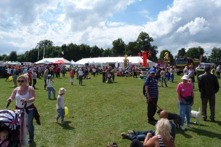 Crowds at last year's Spilsby Show. EMN-190907-121113001