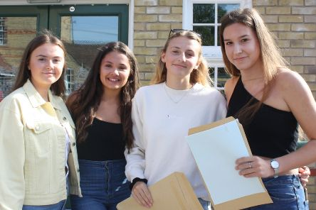 GCSE results: Alford grammar school students celebrates fantastic results
