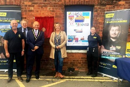 The Poacher Line worked with the Rotary Club of Skegness to teach rail safety to primary schools, who then created artwork for the station. The project also saw the installation of a defibrillator at the station.