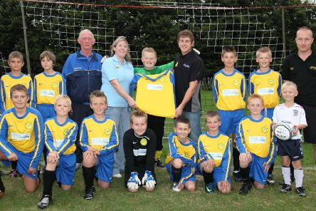 Swifts Junior Football Club's under 12 team 10 years ago.