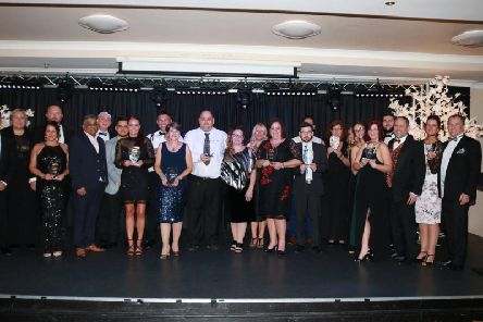 Last year's winners in the Skegness Business Awards.