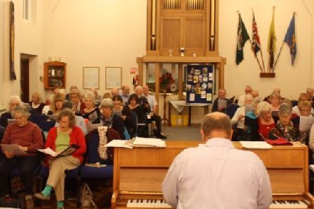 Sleaford Choral Society will appear at St Denys' Church, in Sleaford, this weekend. EMN-180712-163402001