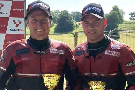Gary Horspole (left) and Scottish passenger Jimmy Connell are aiming to better last season's top-six finish EMN-191202-092015002