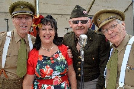 There will be music from the era at Sleaford's 1940s Day. EMN-190618-102507001
