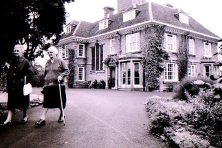Heckington Manor during its days as a council-run elderly people's home, in September 1970. EMN-190410-184408001