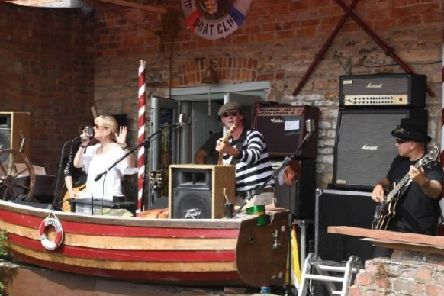 The Band From County Hell performing last year at the Big River Gig. EMN-191111-143624001