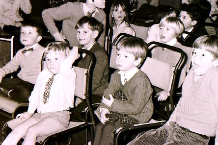 Were you one of these children being entertained at the party in Billinghay Village Hall in January 1971? EMN-201101-161035001