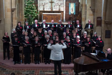 Mid Sussex Choir under the direction of Andrew Sutton