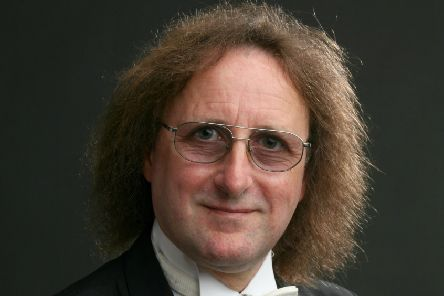 Musical director and conductor Michael Stefan Wood