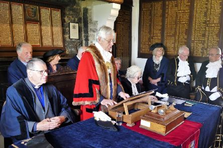 Winchelsea Mayor Making 2019. Photo by Sid Saunders SUS-190423-080520001