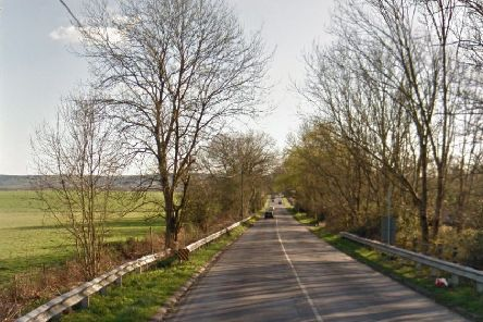 The B2112 Common Lane at Ditchling Common. Picture: Google Street View
