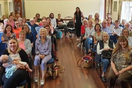 Parents attended a meeting to hear about the consultation