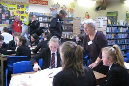 Students at Lord Williams's School design a green living plan