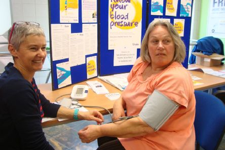 Rotary help fight threat of strokes with free checks for residents around Thame