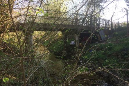 The man was living in a tent by Clipstone Brook