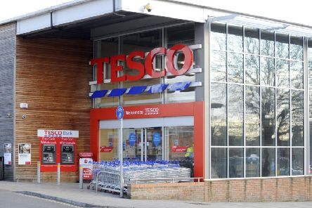 The Tesco supermarket in Quay Street, Fareham. The store is one of hundreds across the country facing uncertainty amid claims Tesco is due to axe 15,000 jobs.