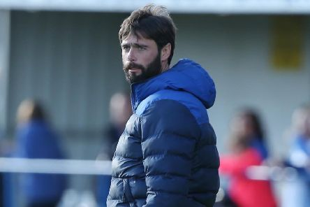 Glenavon manager Gary Hamilton. Pic by INPHO.