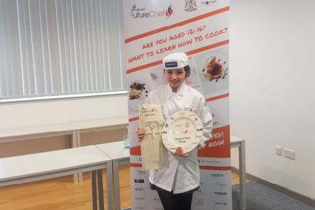 Grace Burrows has competed in the FutureChef National Final