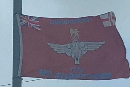 Parachute flags in Cookstown are drawing complaints