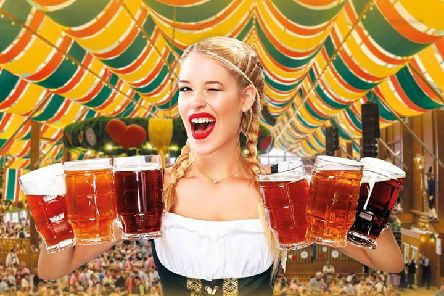 Promotional picture for Oktoberfest comes to Leamington Spa
