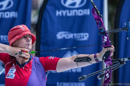 Naomi Folkard is hoping for a fifth tilt at the Olympics.