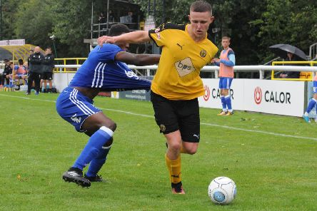 Colby Bishop moved to Accrington in the summer.