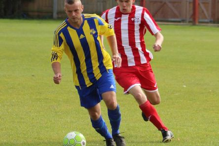 Pat O'Brien saw red in Saints' win over Bradwell United Development.