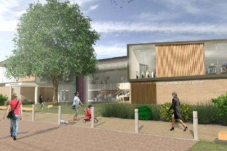 Image from proposed Castle Farm Recreation Centre