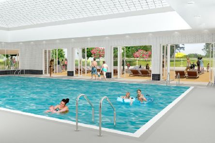 Image of proposed swimming pool at Abbey Fields