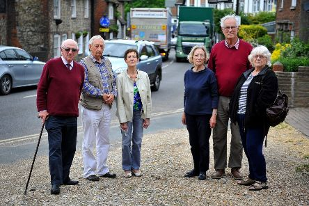 Residents are concerned about increasing levels of traffic and pollution in Storrington. Photo: Steve Robards SR1912215 SUS-190520-162459001