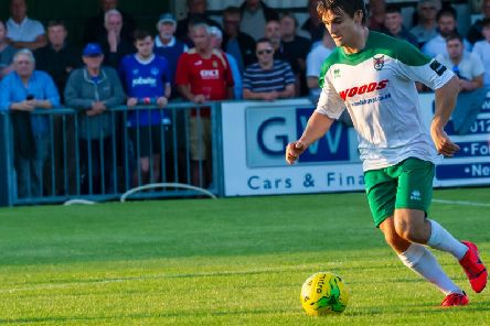 One of the Rocks' new faces, midfielder Freddie Read / Picture by Tommy McMillan
