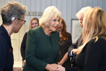 The Duchess of Cornwall visits Ditchling Museum where she has been the President of Ditchling Museum of Art & Craft since 2006.''Ditching, Horsham, West Sussex. ''Picture: Liz Pearce  16/10/2019''LP191600
