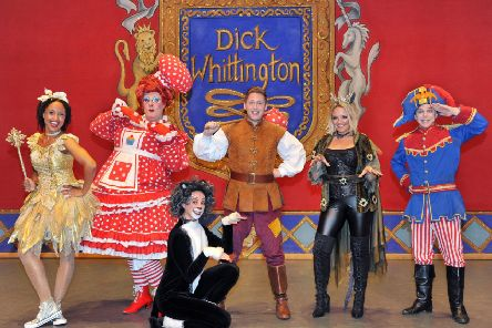 Dick Whittington at The Hawth. Photograph by Paul Clapp