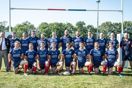 The Cranleigh first XV squad for the 2019/20 season. Picture courtesy of Nick Hendy