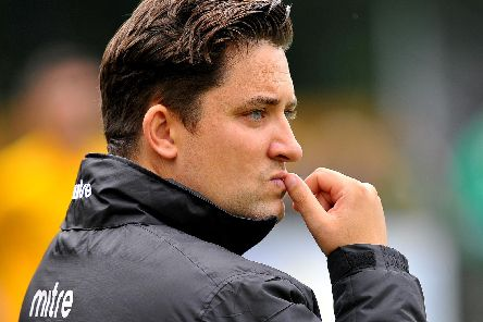 Dom Di Paola was frustrated Saturday's match against Leatherhead didn't go ahead. 12/08/19 Picture by Steve Robards.