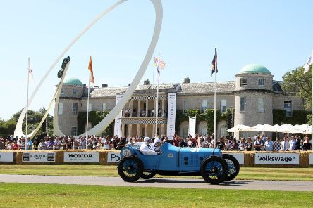 Last year's Goodwood Festival of Speed - Photo: Derek Martin