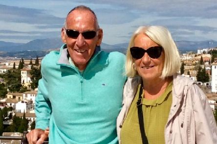 Steve and Val Soames are home safe after their trip to Spain, thanks to Bognor and Littlehampton MP Nick Gibb