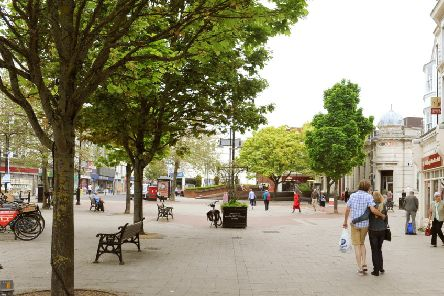 Macmillan Cancer Support's mobile service is coming to South Street Square in Worthing (pictured) and Littlehampton. Photo by Derek Martin