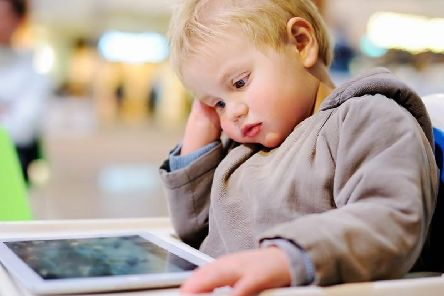 """WHO recommends children under the age of two have no """"sedentary screen time,"""" including video games or TV exposure, and those ages 2 to 4 have no more than one hour each day."""