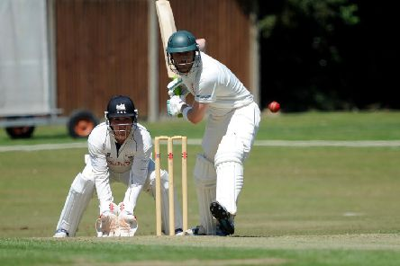 Michael Thornely hit 150 for Horsham
