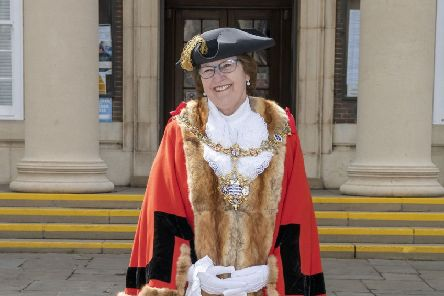 New Worthing mayor Hazel Thorpe