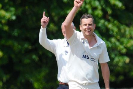 Benn Challen took 3-20 for Broadwater in their five-wicket home win over Littlehampton, Clapham & Patching in Division 3 West on Saturday. Picture by Stephen Goodger